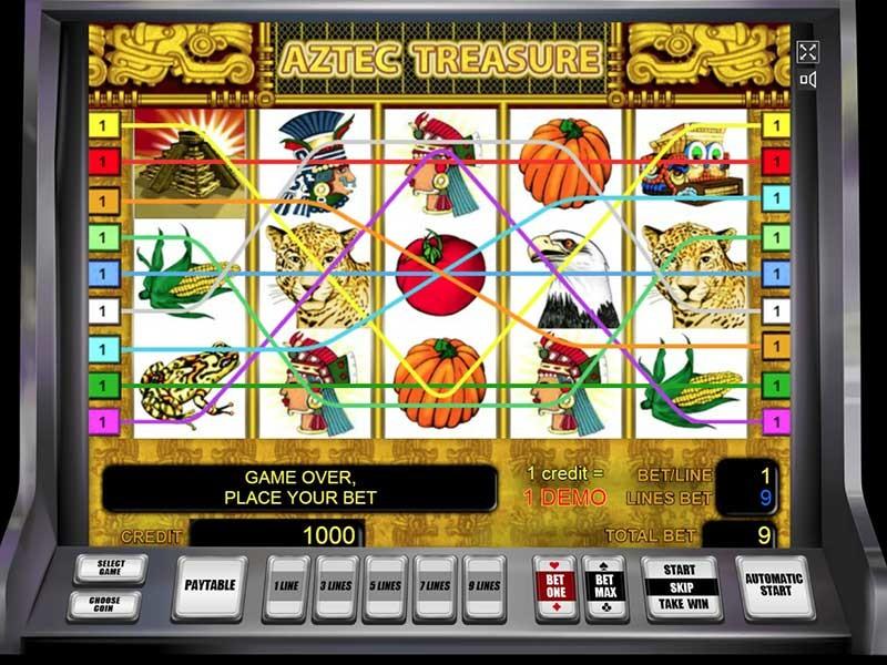 Сокровище ацтеков игровые автоматы king tut s tomb игровой автомат