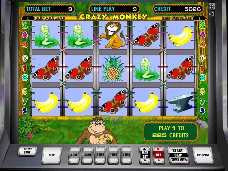 Онлайн игровой автомат crazy monkey бесплатно игровой автомат для psp
